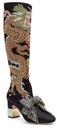 Women's Gucci Candy Dragon Tall Boot $3,590 thestylecure.com