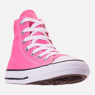 Converse Girls' Preschool Chuck Taylor High Top Casual Shoes