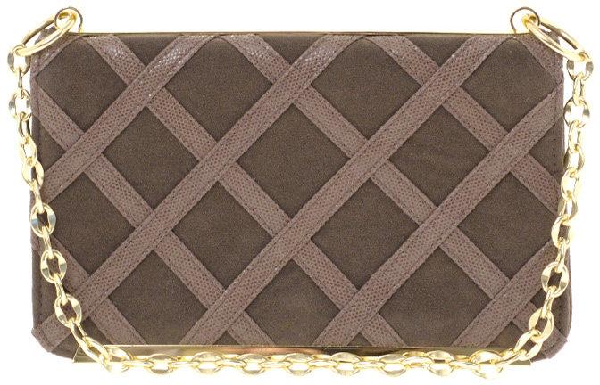 ASOS Lattice Bar Shoulder Bag