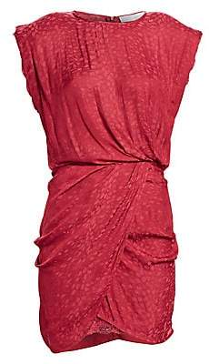 IRO Women's Dedora Draped Mini Dress