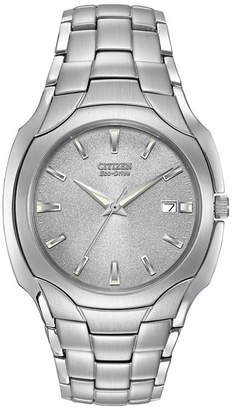 Citizen Eco-Drive Mens Stainless Steel Watch BM6010-55A