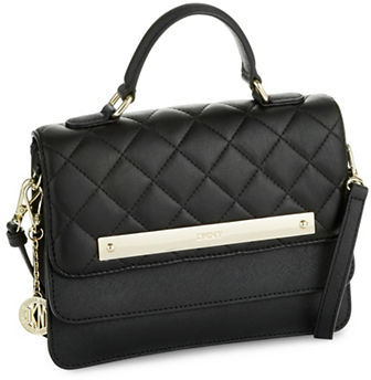 DKNY Dkny Quilted Leather Handbag