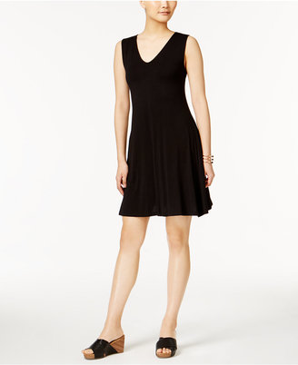 Style & Co Crisscross-Back Dress, Created for Macy's $49.50 thestylecure.com