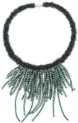 Fabiana Filippi multi string beaded necklace