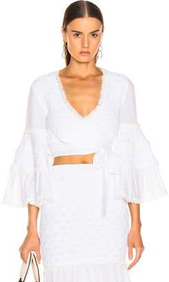 Alexis Godiva Top in White | FWRD