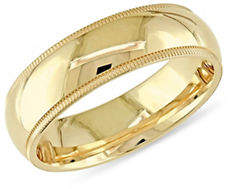 Concerto 14K Yellow Gold Comfort-Fit Wedding Band