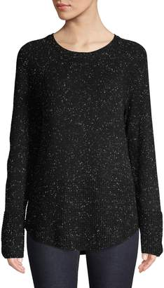 Calvin Klein Textured Cotton-Blend Sweater