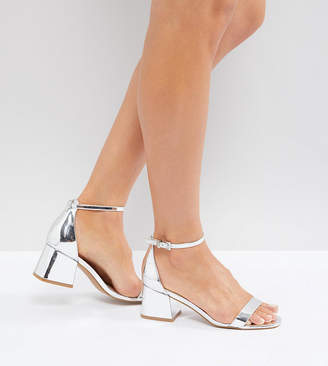 Asos Design HONEYDEW Block Heeled Sandals