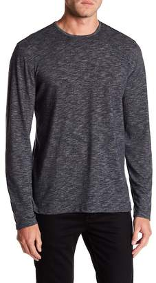 John Varvatos Heathered Knit Crew Neck Sweater