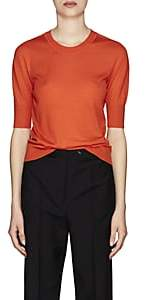 Jil Sander Women's Cashmere-Silk Sweater - Orange