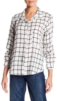 Lush Plaid Button Down Shirt