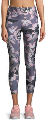 Onzie High-Rise Printed Midi Leggings