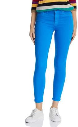 Hudson Barbara Ankle Skinny Jeans in Cobalt