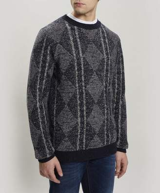 563f79a033 Mens Chunky Cable Knit Sweater - ShopStyle Australia