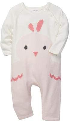 Angel Dear Chick Intarsia Coverall (Baby Girls)