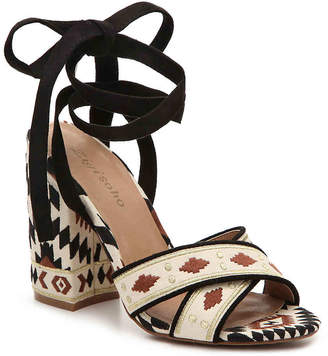 Women's Vierra Sandal -Black/Multicolor $90 thestylecure.com