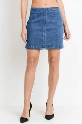 Just USA A-Line Mini Skirt