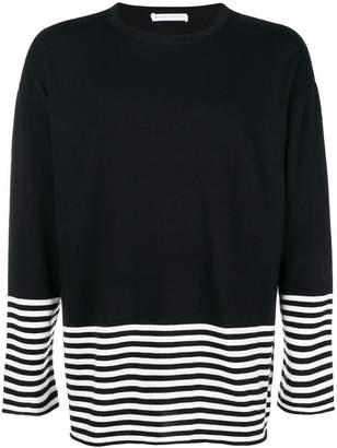 Societe Anonyme striped detail jumper