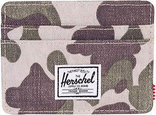 Herschel New Men's Charlie Rfid Wallet Polyester Green