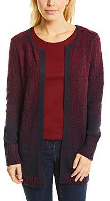 Cecil Women's 252580 Cardigan, Cranberry red 21088, Large