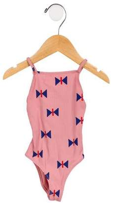 Bobo Choses Girls' Printed One-Piece Swimsuit w/ Tags
