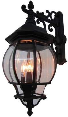 Artcraft Lighting Classico 4 Light AC8491RU Black Outdoor Light