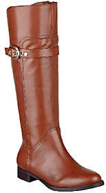 Marc Fisher Leather Tall Shaft Riding Boots -Taite