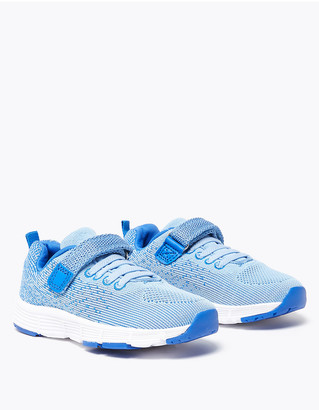 Marks and Spencer Kids Light As Air Ombre Riptape Trainers (5 Small - 12 Small)