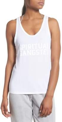Spiritual Gangster Varsity Racerback Tank