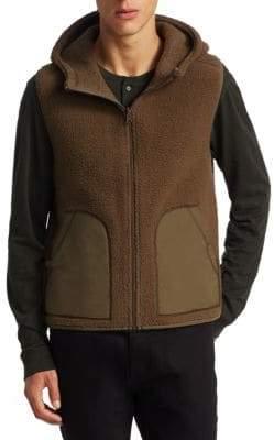 Vince Reversible Sherpa Fatigue Coat