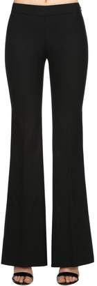 Giambattista Valli Flared Stretch Knit Pants