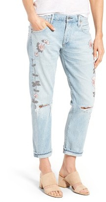 Women's Citizens Of Humanity Emerson Slim Boyfriend Jeans $298 thestylecure.com