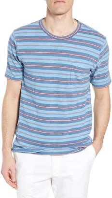 Faherty Vintage Stripe Pocket T-Shirt