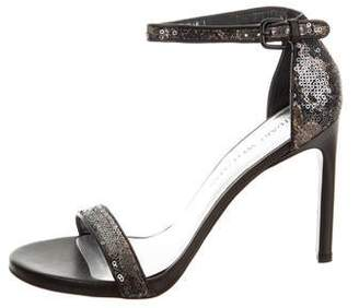 Stuart Weitzman Pipeimage High-Heel Sandals w/ Tags