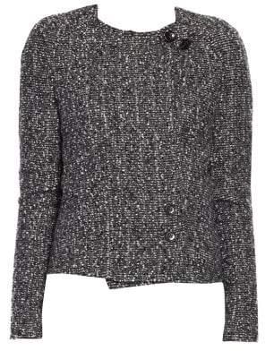 Isabel Marant Helba Tweed Short Jacket