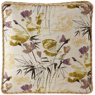 Sweet Dreams Lotus Boxed Floral Euro Sham