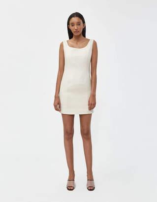 Amomento Raw Silk Dress
