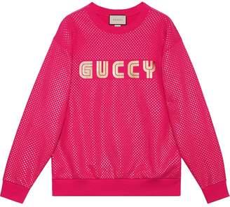 Gucci Guccy print sweatshirt