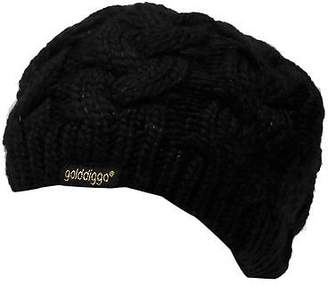 Golddigga Womens Beret Berets Knitted