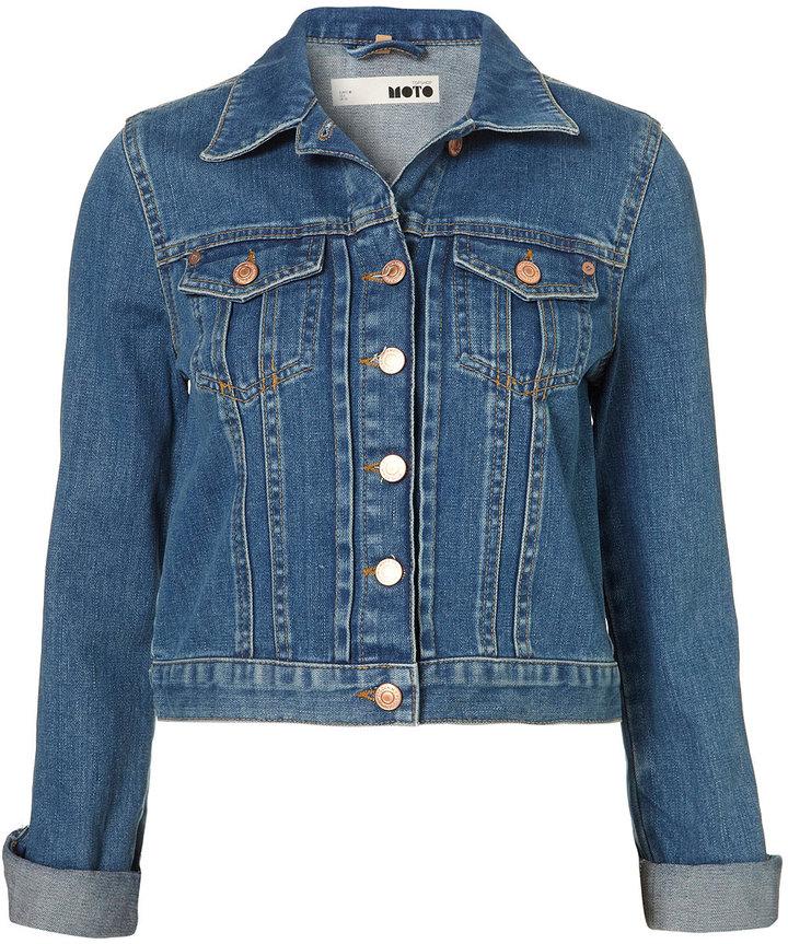 MOTO 70'S Vintage Denim Jacket
