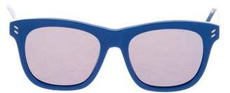 Stella McCartney Reflective Wayfarer Sunglasses w/ Tags