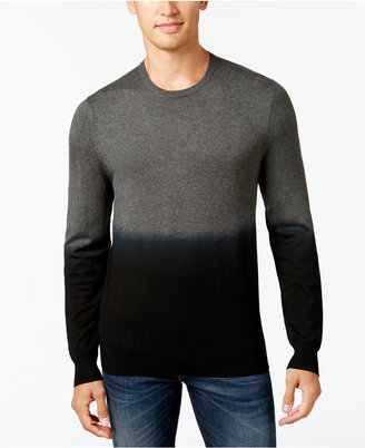 Vince Camuto Men's Dip-Dyed Sweater $135 thestylecure.com