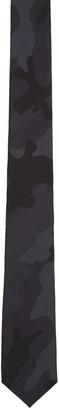 Valentino Black Silk Camo Tie $190 thestylecure.com