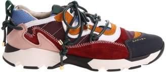 Carven Color Block Sneakers