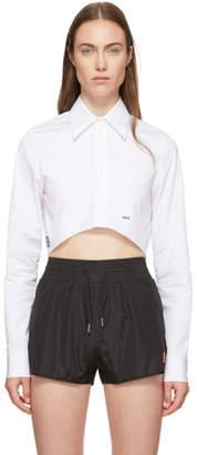 Off-White White Cropped Shirt