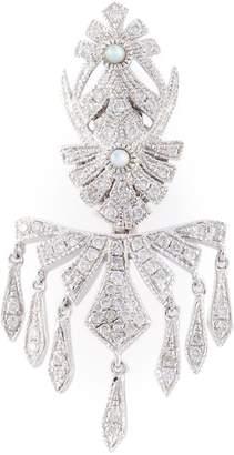 Joelle Gagnard Jewellery pavé diamond earring