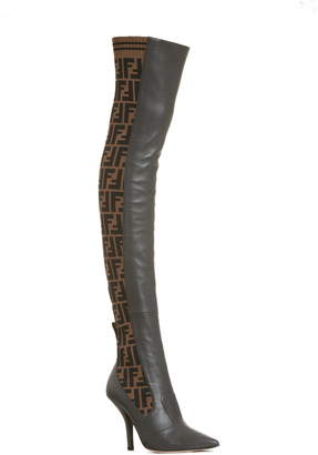 b3b2c8077a2d Fendi Brown Women s Boots - ShopStyle