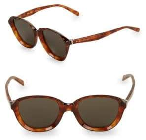 Celine 51MM Rounded Square Sunglasses