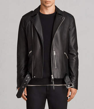 AllSaints Kaho Leather Biker Jacket