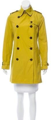 Burberry Button-Up Short Coat